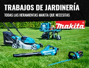 Trabajos de jardinería con Makita