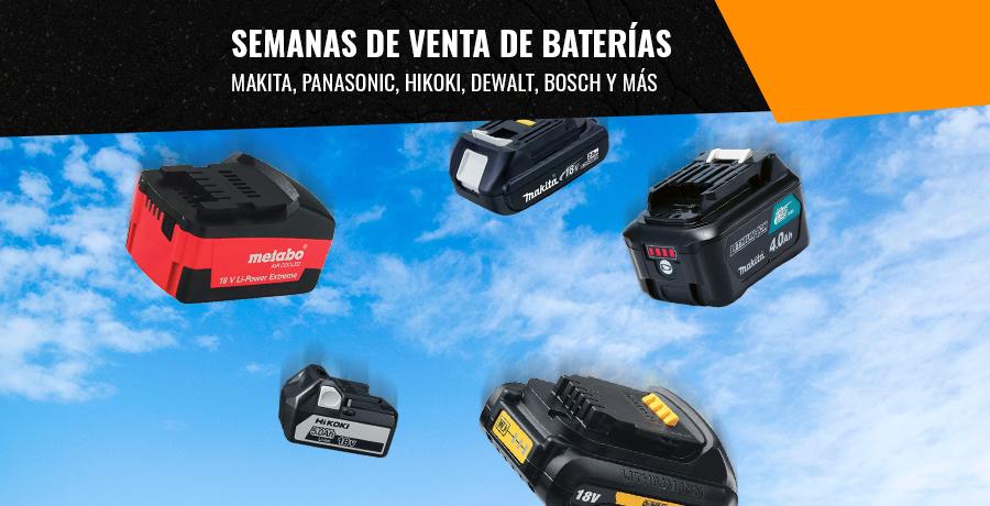Semanas de venta de baterías